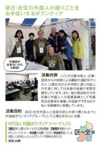 NPO法人 外国語ボランティア・コートーク(LVC)